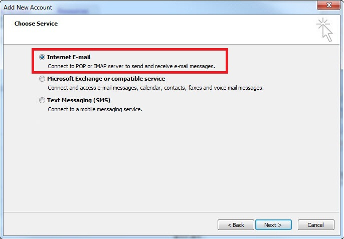 how to change pop email to imap in microsoft outlook